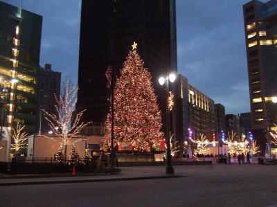 DownTownのクリスマスツリー☆