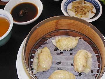海鮮餃子カレー風味
