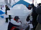 氷のお神輿