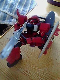 ガナーザク(赤)