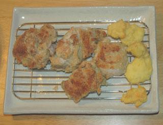 スチームオーブンで焼いたケンタ風チキン