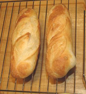 白神天然酵母のフランスパン