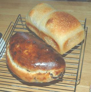 ゆず酵母のシュトーレンと食パン