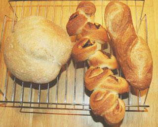 手捏ねフランスパン