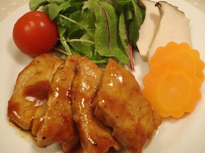 豚モモ料理