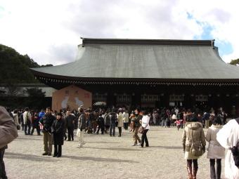 橿原神宮 初詣