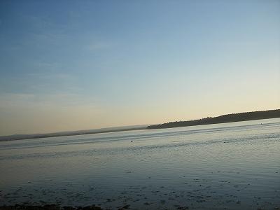 フィンドホーンの海