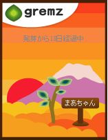 gremz夕焼け富士山