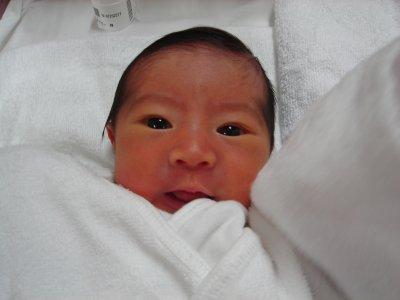 ユウタン誕生直後1