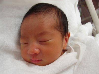 ユウタン誕生直後2