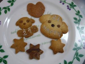 お祝いクッキー