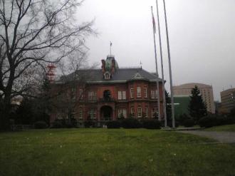 北海道庁旧庁舎 横側