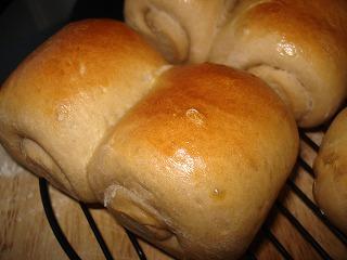 全粒粉でミニ食パン♪