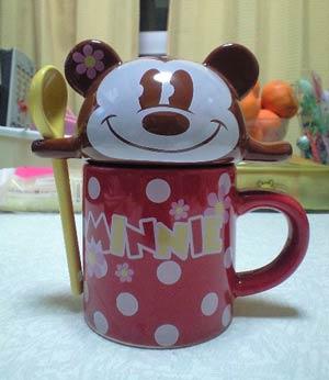 ミニーちゃんマグカップ