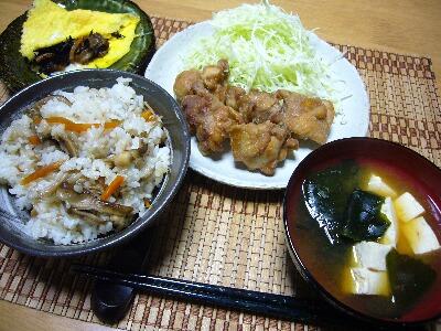 9月11日(火) 晩御飯