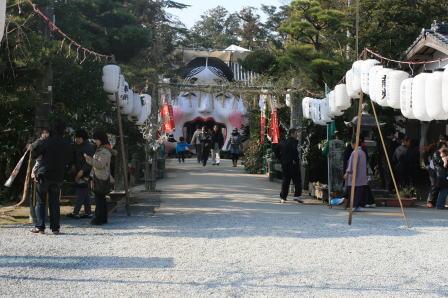 日吉神社(柳川市坂本町)