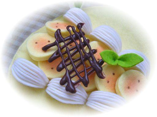 バナナチョコクレープ