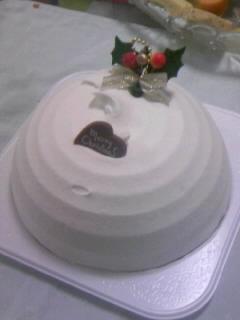 甘すぎるケーキ。
