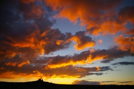 カッパドキアの夕焼け