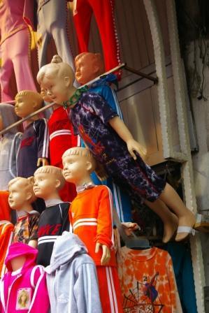 Grand Bazarのマネキン