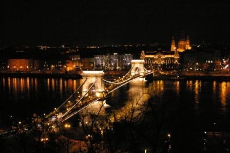 Budapestくさり橋