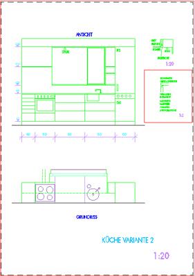 家具の製図