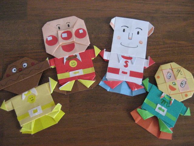 折り紙の アンパンマン折り紙の折り方 : mororon.blog74.fc2.com