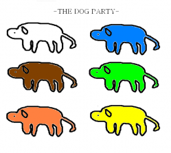 the dog party