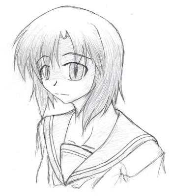 初描きレナ