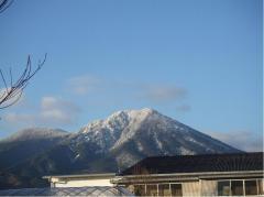 08年正月の雪の夷守岳