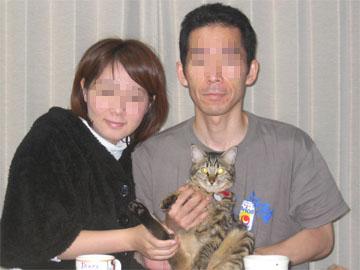 幹、家族写真