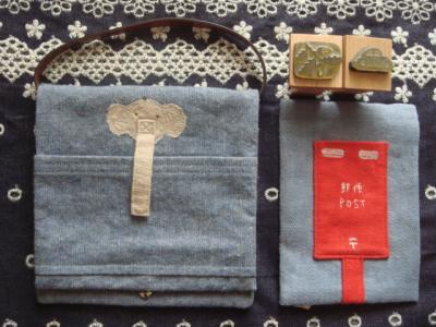 motorinneさんのぞうさんバッグ&ティッシュケース