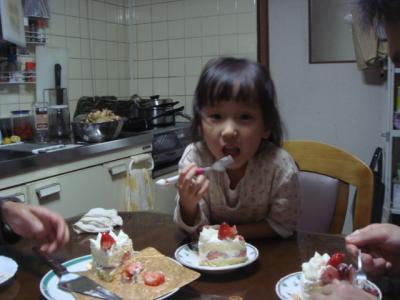 2007.11.4 ばあちゃんの誕生日パーチー
