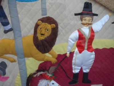 ライオンさんの部分