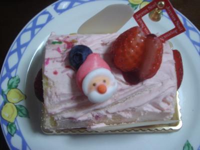 2007.12.24 クリスマスケーキ