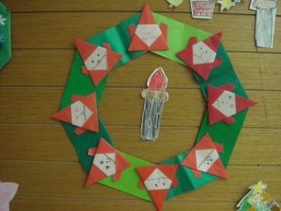 5歳 年中さん 保育園でのクリスマス4