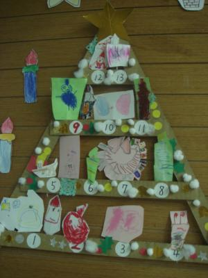5歳 年中さん 保育園でのクリスマス8