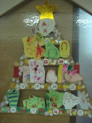 5歳 年中さん 保育園でのクリスマス9
