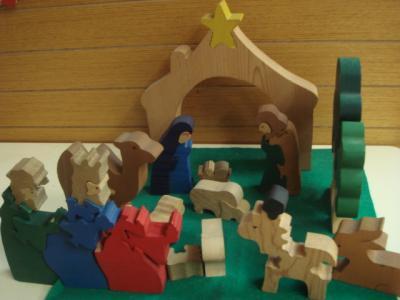 5歳 年中さん 保育園でのクリスマス7