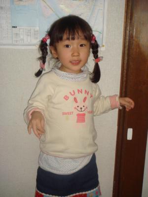 のどか5歳の誕生日1