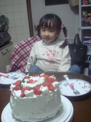 のどか5歳の誕生日9