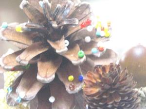 松ぼっくりのクリスマス!
