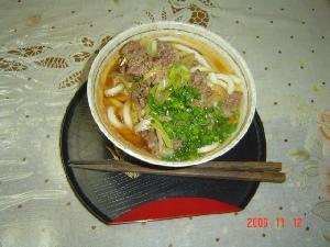 肉うどん(*^^*)