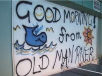 クジラ壁画