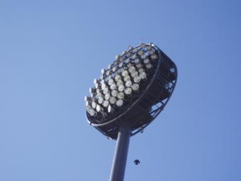スタジアム照明