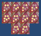 花の慶次-確変潜伏ランプ点灯パターン