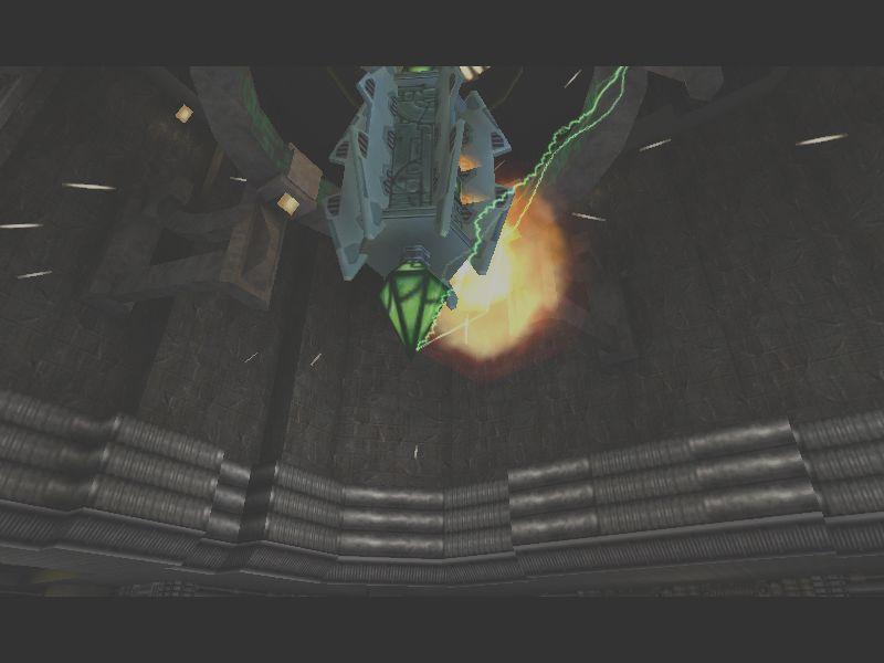 ボーグの動力源。仲間が仕掛けていたリモート爆弾で破壊したところ。