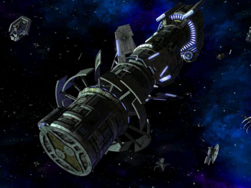 敵の襲撃を抑制するための衛星砲。ただし故障中なので直しに行くのだが・・・。