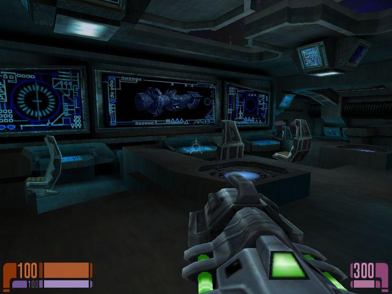 蔓延る敵をなぎ倒してようやくたどり着いた操縦室。