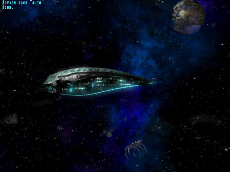 敵の大将が乗った船が、アジトに帰還したところ?